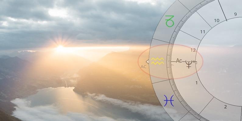 Astrologie lernen - Planet am Aszendenten - ASTRORBIS