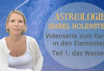 Karma im Element Wasser Astrorbis Isabel Holenstein